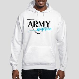 Light Blue Army Girlfriend Hooded Sweatshirt