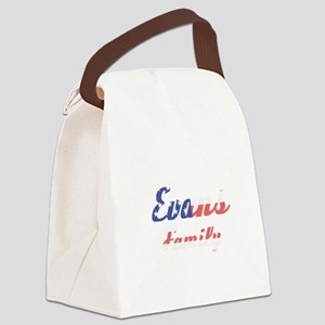 Evans Family Canvas Lunch Bag