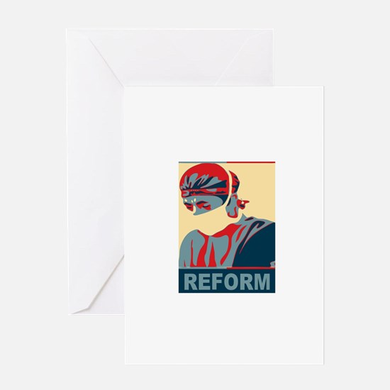 Democratic Surgeon Greeting Card