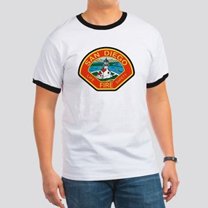 San Diego Fire Department Ringer T