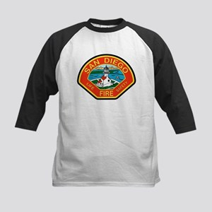 San Diego Fire Department Kids Baseball Jersey