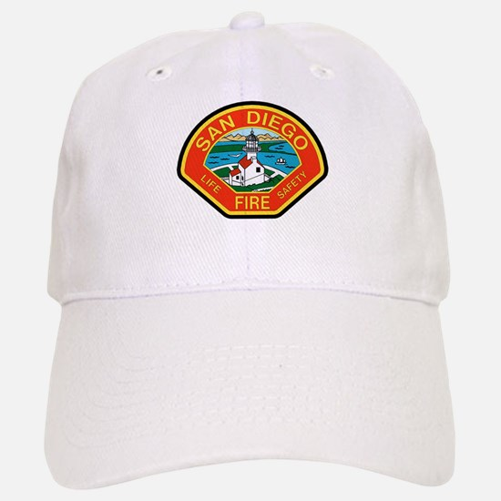 San Diego Fire Department Baseball Baseball Cap