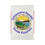 Montana-5 Rectangle Magnet (100 pack)