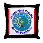 Texas-5 Throw Pillow