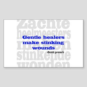 Gentle Healers Rectangle Sticker