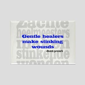 Gentle Healers Rectangle Magnet
