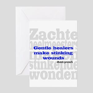Gentle Healers Greeting Card