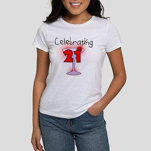 Cocktail Celebrating 21 Women's T-Shirt