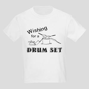 Pots and Pans Drum Set Kids Light T-Shirt