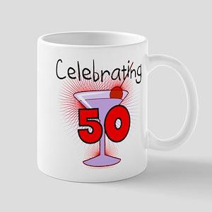 Cocktail Celebrating 50 Mug
