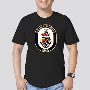 USS Arleigh Burke DDG-51 US Navy Men's Fitted T-Sh