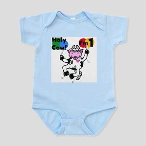 Holy Cow I'm 1 Infant Bodysuit