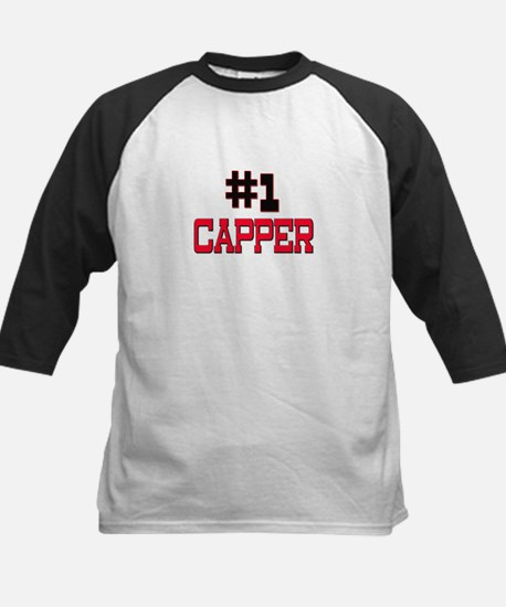 Number 1 CAPPER Kids Baseball Jersey