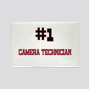 Number 1 CAMERA TECHNICIAN Rectangle Magnet