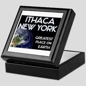 ithaca new york - greatest place on earth Keepsake