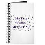 My Dog Walks All Over Me Journal