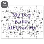 My Dog Walks All Over Me Puzzle