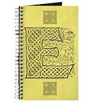 Celtic Letter E Journal
