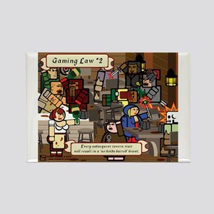 Gaming Law #2 Rectangle Magnet