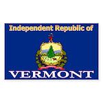Vermont-4 Rectangle Sticker 10 pk)