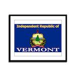 Vermont-4 Framed Panel Print