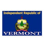 Vermont-4 Postcards (Package of 8)