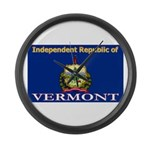 Vermont-4 Large Wall Clock