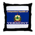 Vermont-4 Throw Pillow