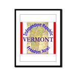 Vermont-3 Framed Panel Print