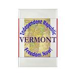Vermont-3 Rectangle Magnet