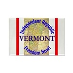 Vermont-3 Rectangle Magnet (10 pack)