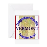 Vermont-3 Greeting Card