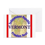 Vermont-3 Greeting Cards (Pk of 20)