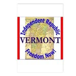 Vermont-3 Postcards (Package of 8)