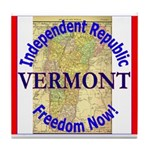 Vermont-3 Tile Coaster