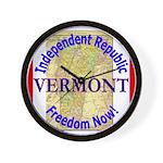 Vermont-3 Wall Clock