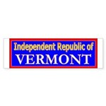 Vermont-2 Bumper Sticker