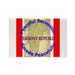 Vermont-1 Rectangle Magnet (100 pack)