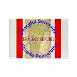 Vermont-1 Rectangle Magnet