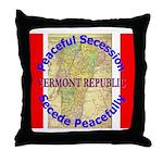 Vermont-1 Throw Pillow