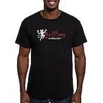 Men's Fitted evilBay.com T-Shirt (dark)