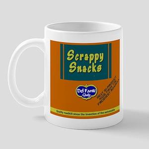 Scrappy snacks small mug