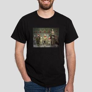 Mausoleum Xmas Party Black T-Shirt