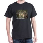 Mausoleum Xmas Party Black T-Shirt