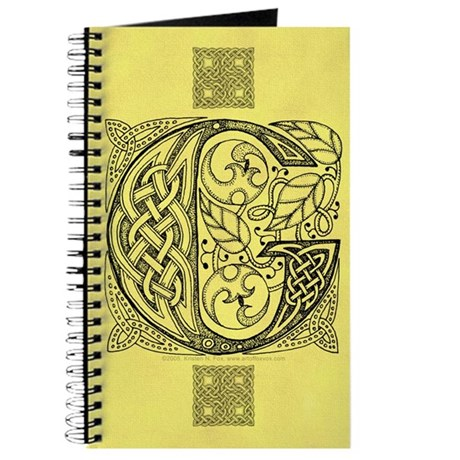 Celtic Letter G Journal