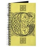 Celtic Letter G Journal