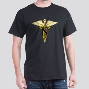 U.S. Army Nurse Black T-Shirt