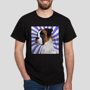 Pop Art Boxer Black T-Shirt