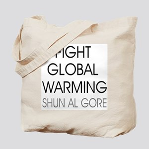 Fight Global Warming Tote Bag