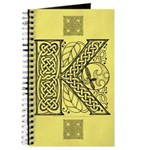 Celtic Letter K Journal